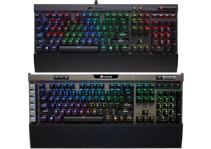 Image result for corsair k95 vs k70